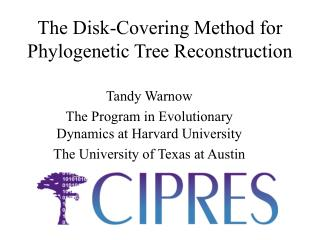 The Disk-Covering Method for Phylogenetic Tree Reconstruction