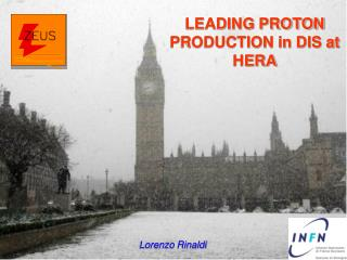 LEADING PROTON PRODUCTION in DIS at HERA