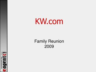 KW Family Reunion 2009