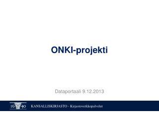 ONKI-projekti