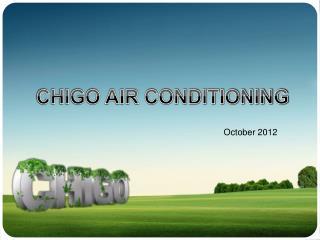 CHIGO AIR CONDITIONING