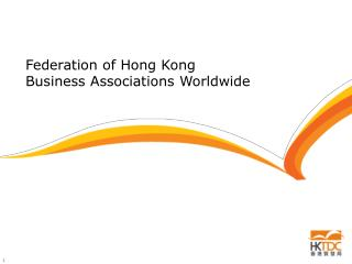 Federation of Hong Kong  Business Associations Worldwide