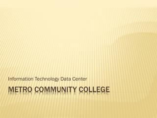 Metro Community College