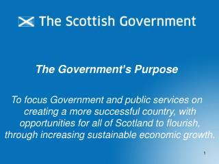 The Government's Purpose