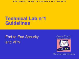 Technical Lab n°1 Guidelines
