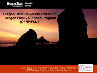 Oregon State University Extension, Oregon Family Nutrition Program (OFNP/FSNE)