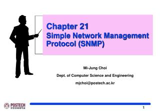 Chapter 21 Simple Network Management   Protocol (SNMP)
