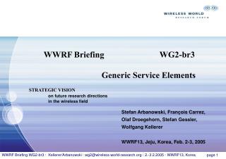 WWRF Briefing WG2-br3    Kellerer