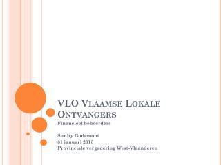 VLO Vlaamse Lokale Ontvangers