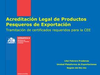 Tramitación de certificados requeridos para la CEE