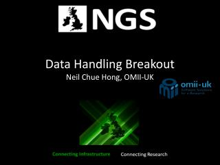 Data Handling Breakout Neil Chue Hong, OMII-UK