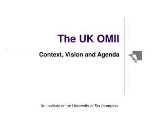 The UK OMII