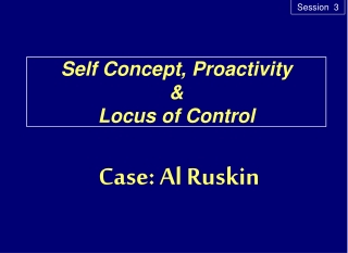 Understanding Ourselves: Self-Concept