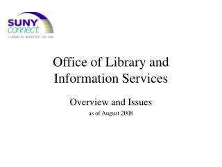 Office of Library and Information Services
