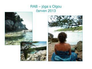 RAB � j�ga s Olgou ?erven 2013