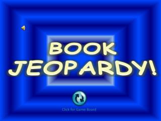 BOOK JEOPARDY!