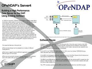 OPeNDAP's Server4