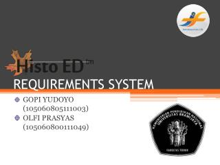 REQUIREMENTS SYSTEM