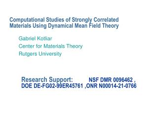 Computational Studies of Strongly Correlated Materials Using Dynamical Mean Field Theory
