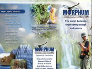 Morphum Environmental Ltd Environmental Engineers and Consultants morphum