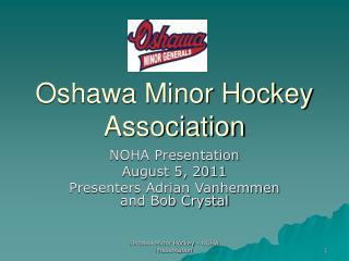 Oshawa Minor Hockey Association