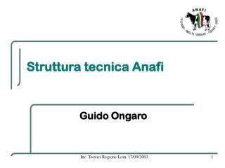 Struttura tecnica Anafi