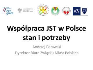 Współpraca JST w Polsce stan i potrzeby