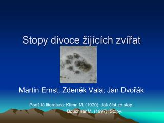 Stopy divoce �ij�c�ch zv�?at