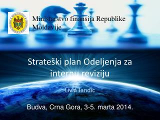 Strateški plan Odeljenja za internu reviziju