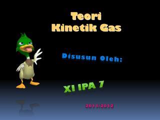 T eori  Kinetik Gas