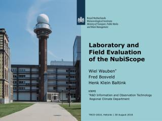 Laboratory and Field Evaluation of the NubiScope