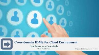 Cross-domain IDMS for Cloud Environment