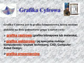 Grafika Cyfrowa