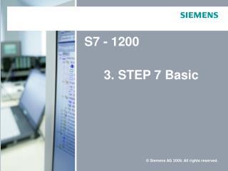 Pohledy ve  STEP7 Basic: