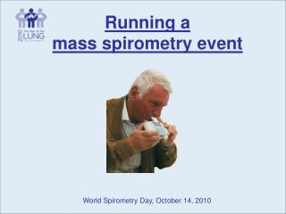 Running a  mass spirometry event