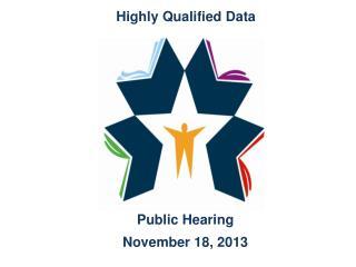 Public Hearing November 18, 2013