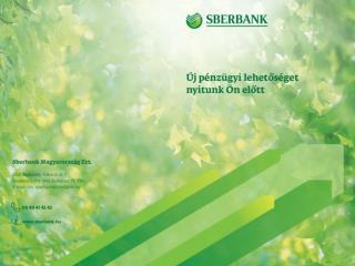 A  Sberbank  Magyarország  Zrt . a magyar bankpiacon
