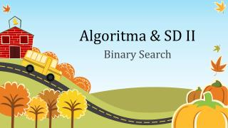 Algoritma & SD II