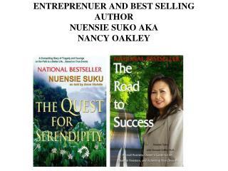 ENTREPRENUER AND BEST SELLING AUTHOR  NUENSIE SUKO AKA NANCY OAKLEY