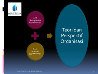 Definisi Organisasi