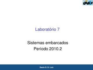 Laboratório 7