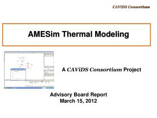 AMESim Thermal Modeling