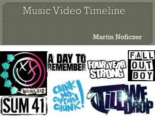 Music Video Timeline