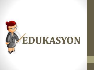 EDUKASYON