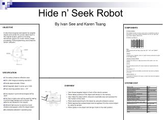 Hide n� Seek Robot