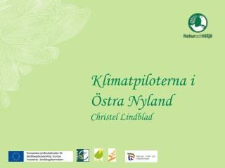Klimatpiloterna i Östra Nyland Christel Lindblad