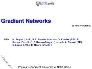 Gradient Networks