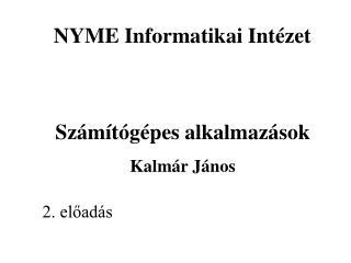 NYME Informatikai Intézet