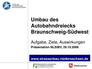 Umbau des Autobahndreiecks Braunschweig-Südwest