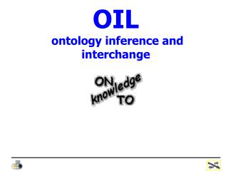 OIL  ontology inference and interchange